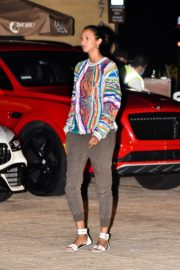 Lais Ribeiro Out for Dinner at Nobu in Malibu 2020/06/14 1