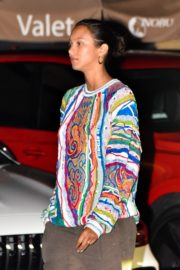 Lais Ribeiro Out for Dinner at Nobu in Malibu 2020/06/14 2