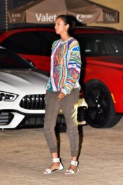 Lais Ribeiro Out for Dinner at Nobu in Malibu 2020/06/14 3