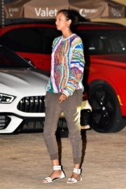 Lais Ribeiro Out for Dinner at Nobu in Malibu 2020/06/14 4