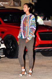 Lais Ribeiro Out for Dinner at Nobu in Malibu 2020/06/14 5