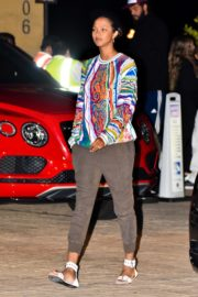Lais Ribeiro Out for Dinner at Nobu in Malibu 2020/06/14 7