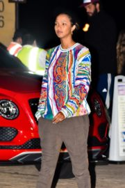 Lais Ribeiro Out for Dinner at Nobu in Malibu 2020/06/14 9