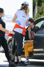 Laura Dern Out and About in Brentwood 2020/06/10 1