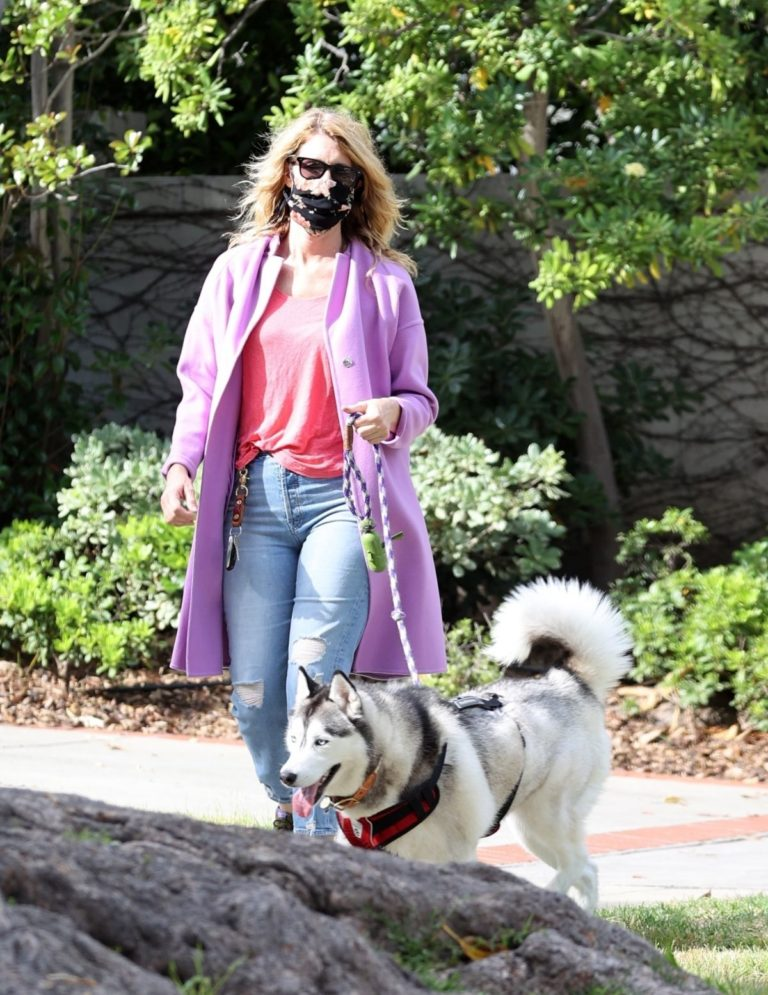 Laura Dern Out with Her Dog in Pacific Palisades 2020/06/02 6