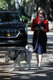 Laura Dern Out with Her Dogs in Santa Monica 2020/06/07 6