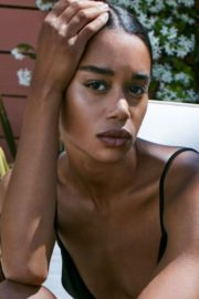 Laura Harrier in The Edit by Net-a-porter Photoshoot, June 2020 11