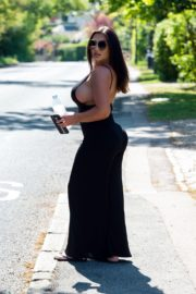 Lauren Goodger Out and About in Essex 2020/04/26 12