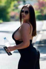 Lauren Goodger Out and About in Essex 2020/04/26 17