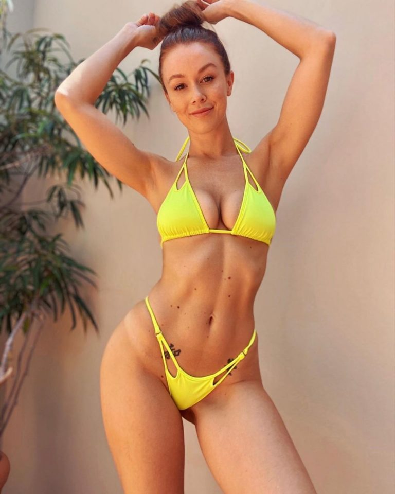 Leanna Decker in a Yellow Bikini – Instagram Photos 2020/06/10 1
