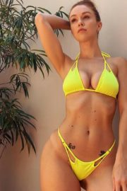 Leanna Decker in a Yellow Bikini – Instagram Photos 2020/06/10 3