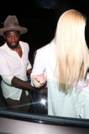 Lindsey Vonn and P. K. Subban at Catch LA in West Hollywood 2020/06/12 2
