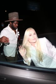 Lindsey Vonn and P. K. Subban at Catch LA in West Hollywood 2020/06/12 4