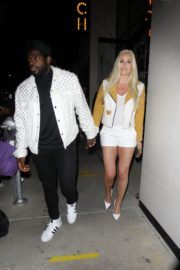 Lindsey Vonn and P. K. Subban Out for Dinner at Catch LA in West Hollywood 2020/06/13 5