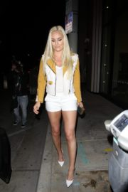 Lindsey Vonn and P. K. Subban Out for Dinner at Catch LA in West Hollywood 2020/06/13 6