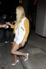 Lindsey Vonn and P. K. Subban Out for Dinner at Catch LA in West Hollywood 2020/06/13 7