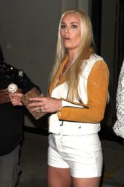 Lindsey Vonn and P. K. Subban Out for Dinner at Catch LA in West Hollywood 2020/06/13 8