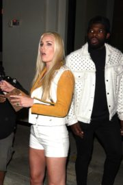 Lindsey Vonn and P. K. Subban Out for Dinner at Catch LA in West Hollywood 2020/06/13 9