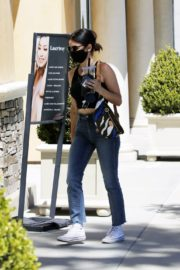 Lucy Hale in Denim Out and About in Los Angeles 2020/06/10 8