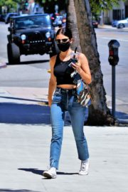 Lucy Hale in Denim Out and About in Los Angeles 2020/06/10 11