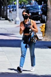 Lucy Hale in Denim Out and About in Los Angeles 2020/06/10 13