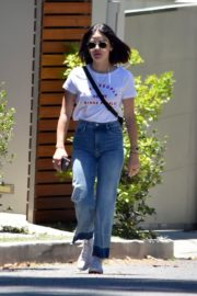 Lucy Hale in Denim Out in Studio City 2020/06/09 10