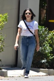 Lucy Hale in Denim Out in Studio City 2020/06/09 14