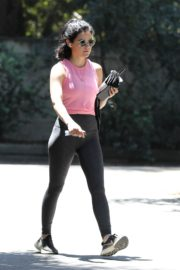 Lucy Hale Out Hiking in Los Angeles 2020/06/11 2