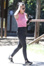 Lucy Hale Out Hiking in Los Angeles 2020/06/11 10