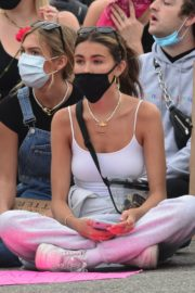 Madison Beer Out Black Lives Matter Protesting in Los Angeles 2020/06/05 1