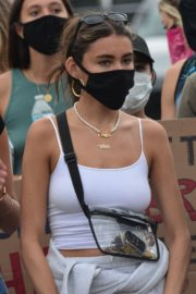 Madison Beer Out Black Lives Matter Protesting in Los Angeles 2020/06/05 7