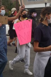 Madison Beer Out Black Lives Matter Protesting in Los Angeles 2020/06/05 10