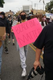 Madison Beer Out Black Lives Matter Protesting in Los Angeles 2020/06/05 14