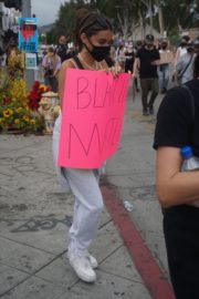 Madison Beer Out Black Lives Matter Protesting in Los Angeles 2020/06/05 15