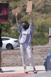 Madison Beer Out Black Lives Matter Protesting in Malibu 2020/06/03 8