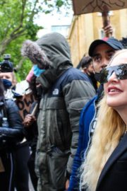 Madonna at the Protests in London 2020/06/07 1