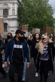 Madonna at the Protests in London 2020/06/07 3