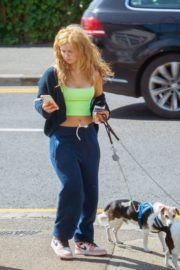Maisie Smith Out with Her Dogs in Essex 06/01/2020 3