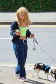 Maisie Smith Out with Her Dogs in Essex 2020/06/01 1