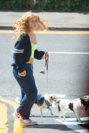 Maisie Smith Out with Her Dogs in Essex 2020/06/01 2