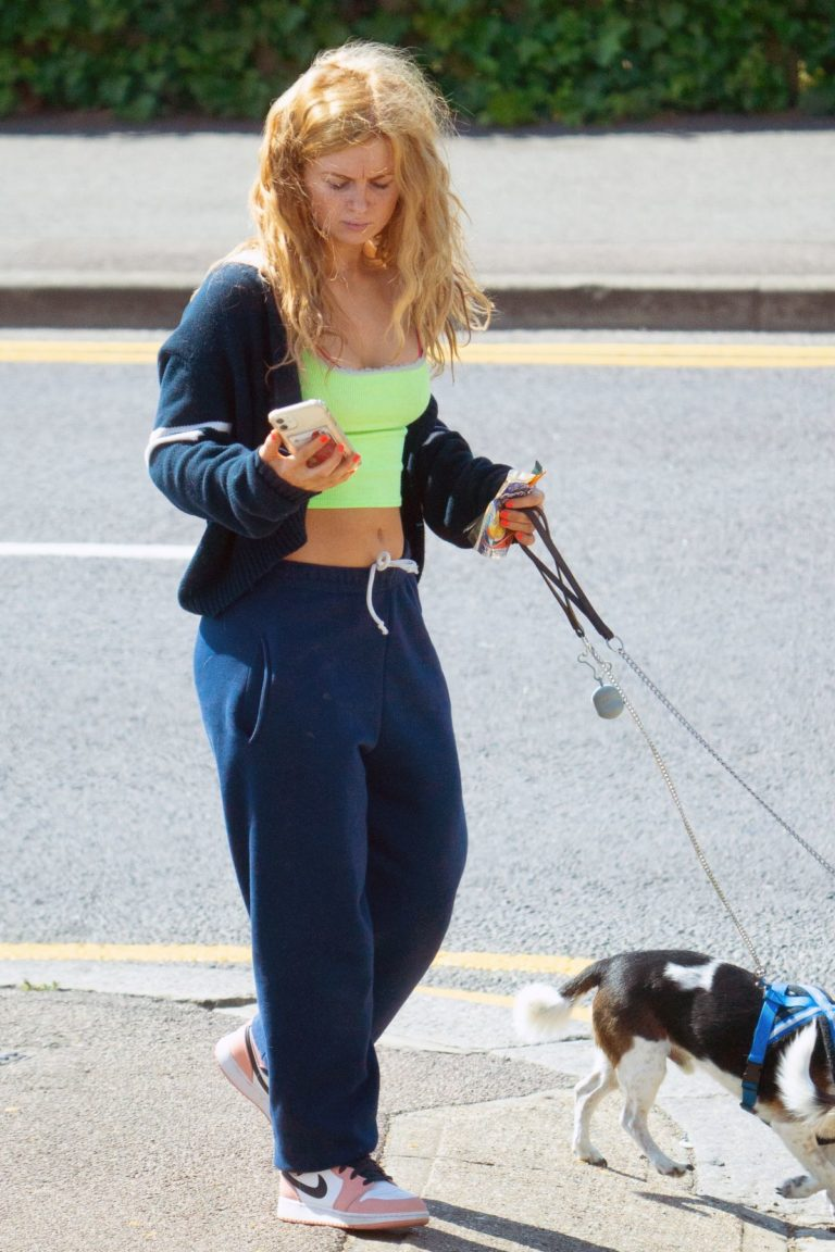 Maisie Smith Out with Her Dogs in Essex 2020/06/01 3
