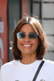 Melanie Sykes Arrives at BBC Studios in London 2020/06/06 3