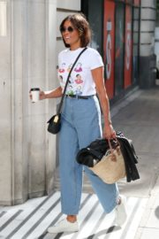 Melanie Sykes Arrives at BBC Studios in London 2020/06/06 4