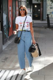 Melanie Sykes Arrives at BBC Studios in London 2020/06/06 7