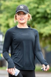 Molly Smith Out Jogging in Manchester 2020/06/12 6