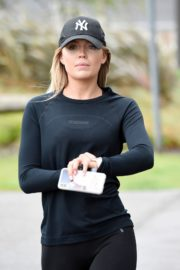 Molly Smith Out Jogging in Manchester 2020/06/12 9