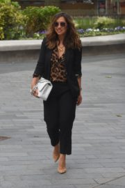 Myleene Klass Arrives at Global Radio in London 2020/06/12 1