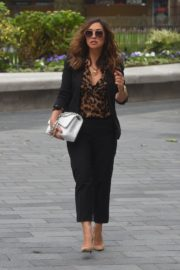 Myleene Klass Arrives at Global Radio in London 2020/06/12 2