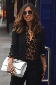 Myleene Klass Arrives at Global Radio in London 2020/06/12 4