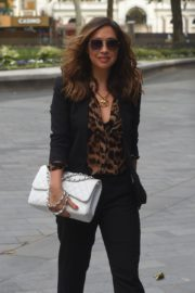 Myleene Klass Arrives at Global Radio in London 2020/06/12 5